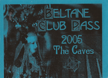 2005 Beltane After Party Ticket
