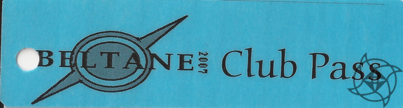 2007 Beltane After Party Ticket