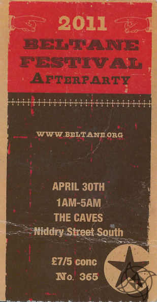 2011 Beltane After Party Ticket.png