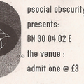 Possibly 2002 Beltane After Party Ticket
