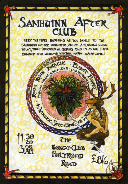 2006 Samhuinn After Party Flyer.png