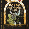 2012 Beltane Poster and Flyer Front